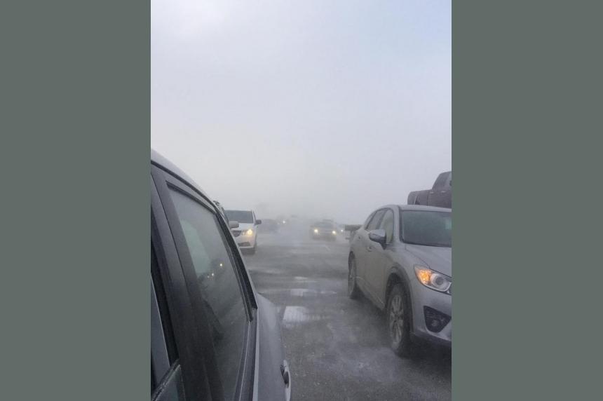 RCMP respond to multi-vehicle crash near Pense