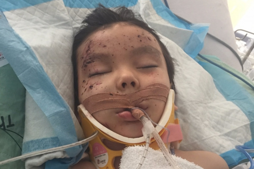 GoFundMe page set up for mom, 6-year-old son involved in crash by McLean