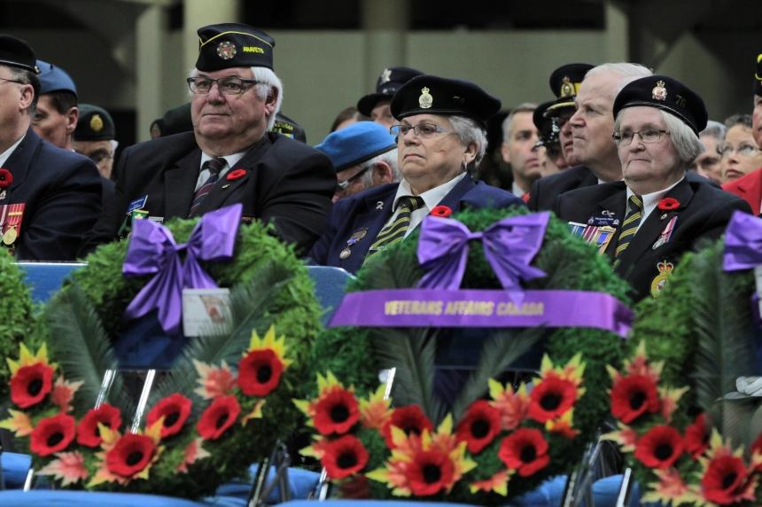 Saskatoon honours veterans at annual ceremony