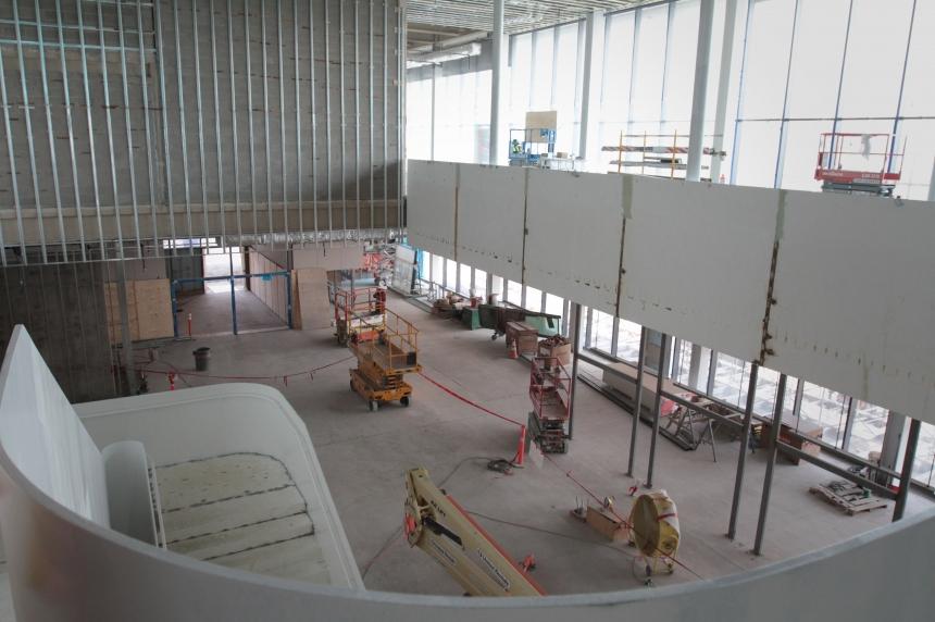 Saskatoon's Remai gallery 90% complete