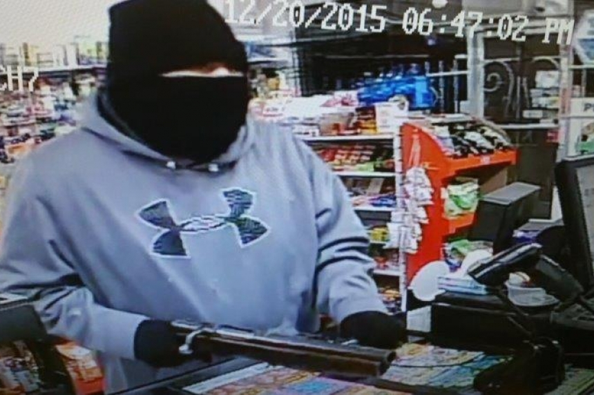 Saskatoon police searching for suspect in armed robbery
