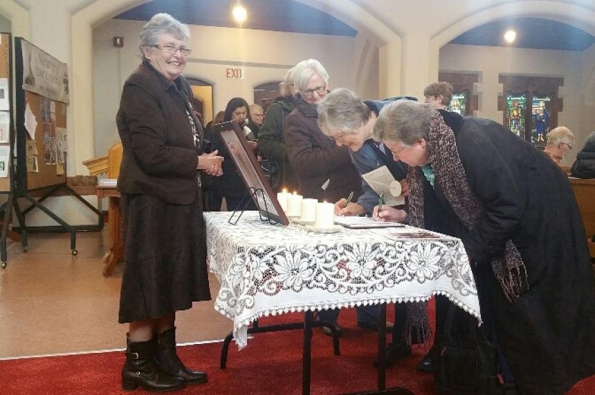 'I pray for the people back home': Saskatoon's St. John's hosts interfaith vigil for La Loche