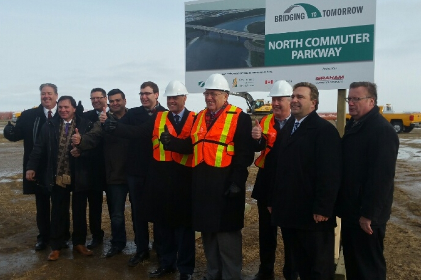Ceremony kicks off construction of new Saskatoon bridge