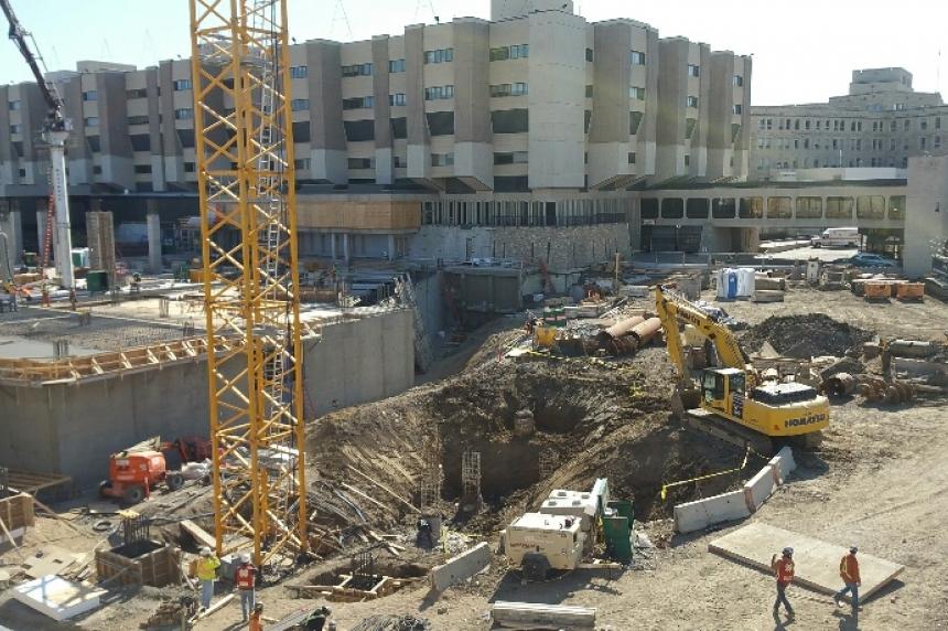 Work on schedule at Sask. children's hospital site