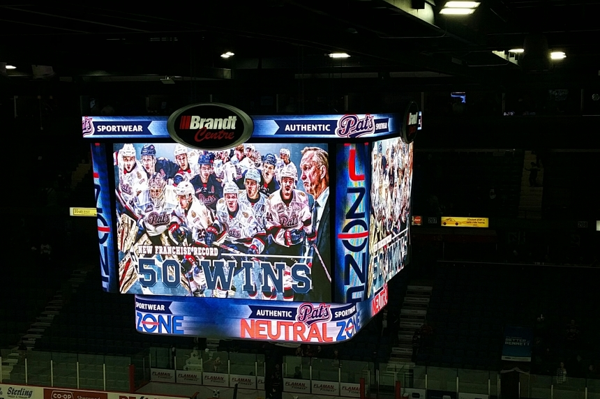 Pats earn a franchise record 50th win against Swift Current