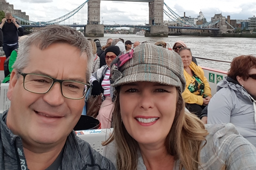 Regina man to 'make the most' of London trip after attack