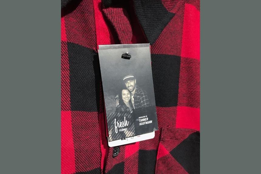 Regina clothing company remembers Tanner Kaufmann
