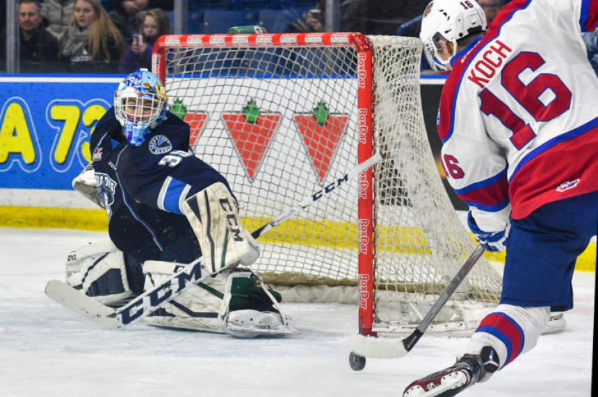 Outplayed, outgunned Blades steal a point from Edmonton