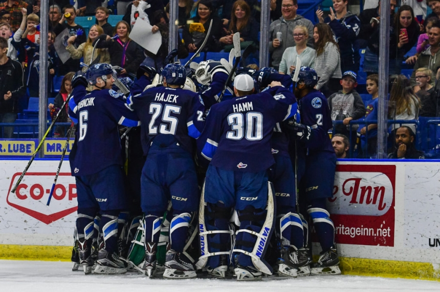 Blades score shootout win over Moose Jaw