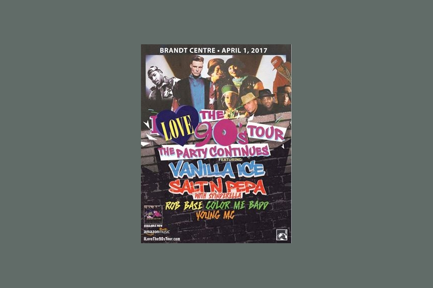 'Bust a move' to the Brandt Centre for I Love The 90s tour in April 2017