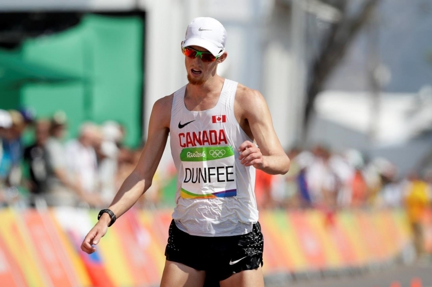 UPDATE: Canadian Evan Dunfee stripped of race walk bronze after Japanese appeal