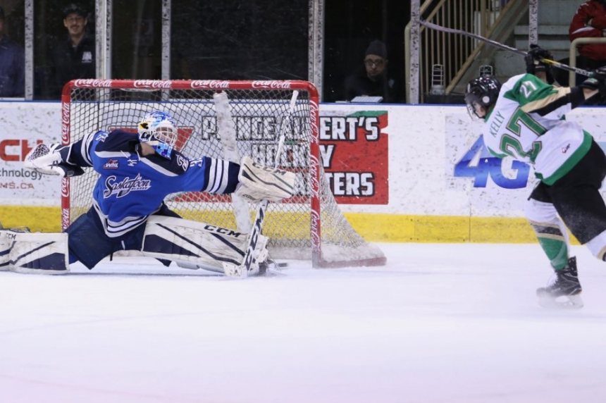 Raiders deliver big blow to Blades playoff hopes