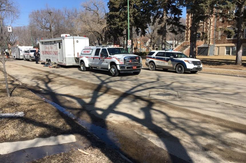 White powder delivered to Saskatoon school