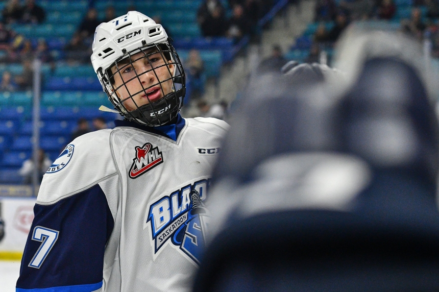 McCarty returns, Dach leads Blades past Moose Jaw