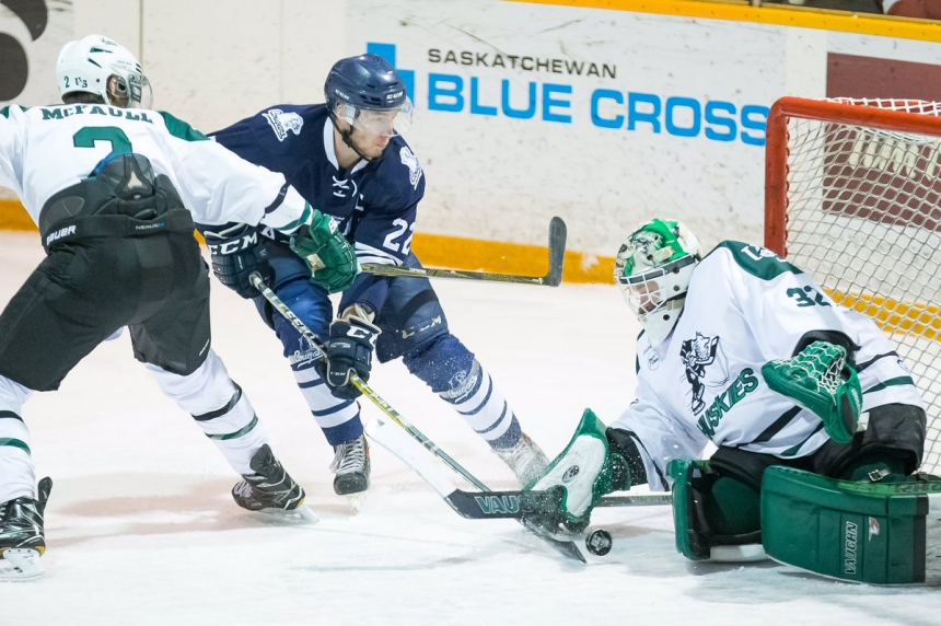 'We've accomplished one goal' Huskies hockey returns to Canada West  men's Final