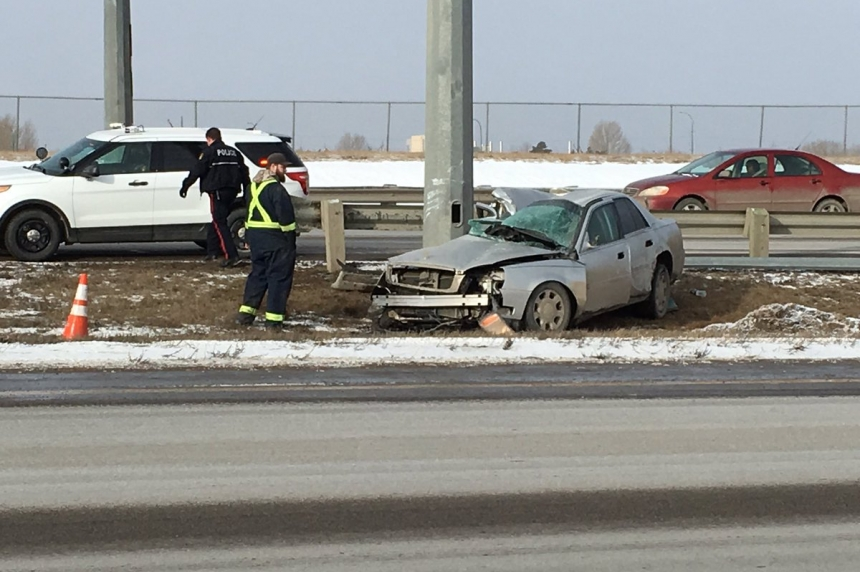 Crash on Circle Drive sends man to hospital