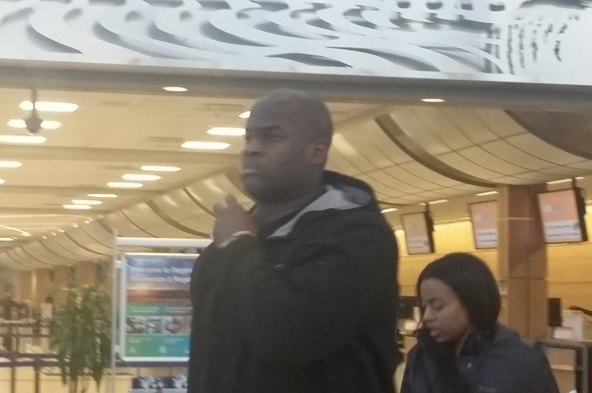 Vince Young  arrives in the Queen City