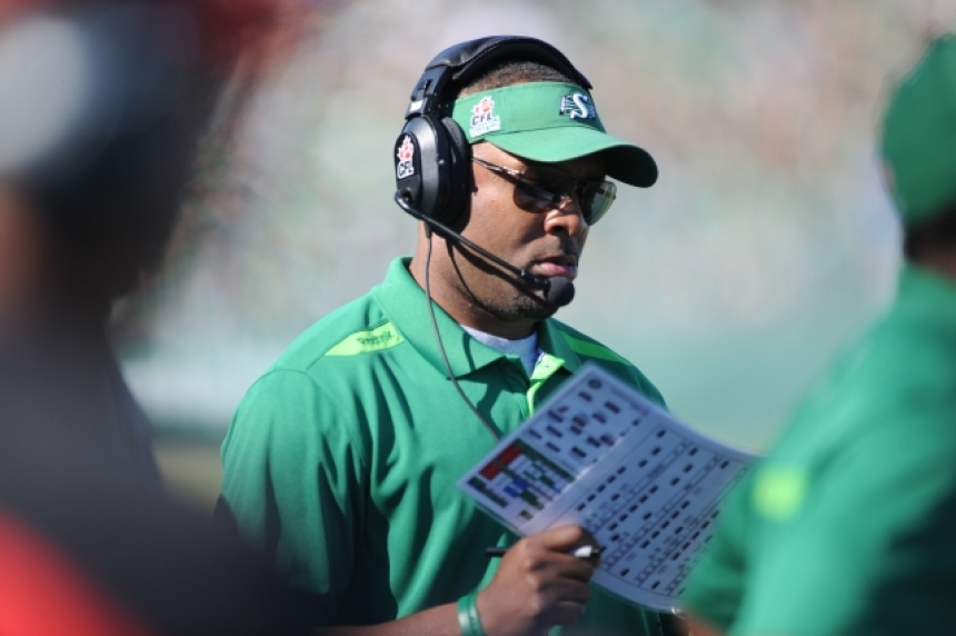 Chamblin dismissing coaching criticism as Riders pursue 1st win