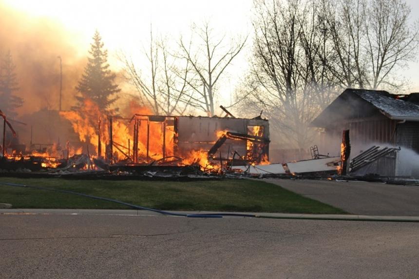 PHOTOS: Blaze destroys home in Swift Current