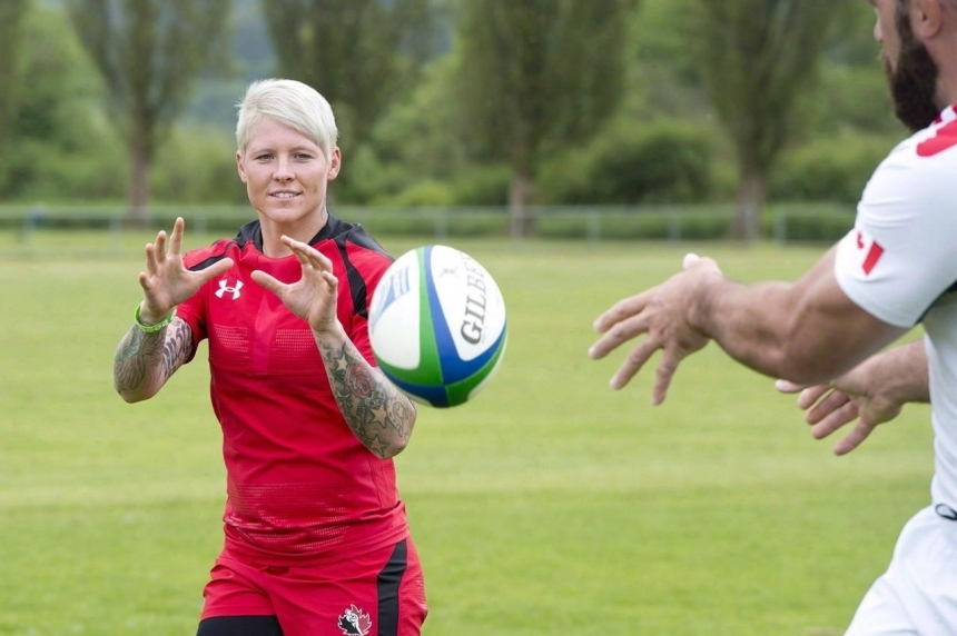 OLYMPIC PREVIEW: Canadian rugby captain Jen Kish to celebrate Rio with father