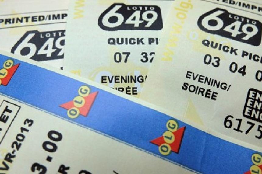 $14M winning lotto ticket bought in Saskatchewan
