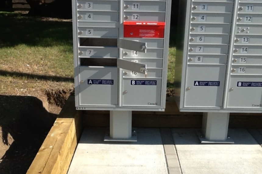 Recent string of stolen mailboxes; Regina police urge residents to watch for suspicious activity