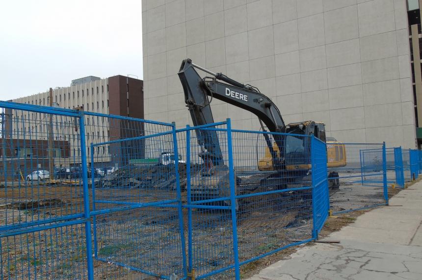 Work begins on Capital Pointe site