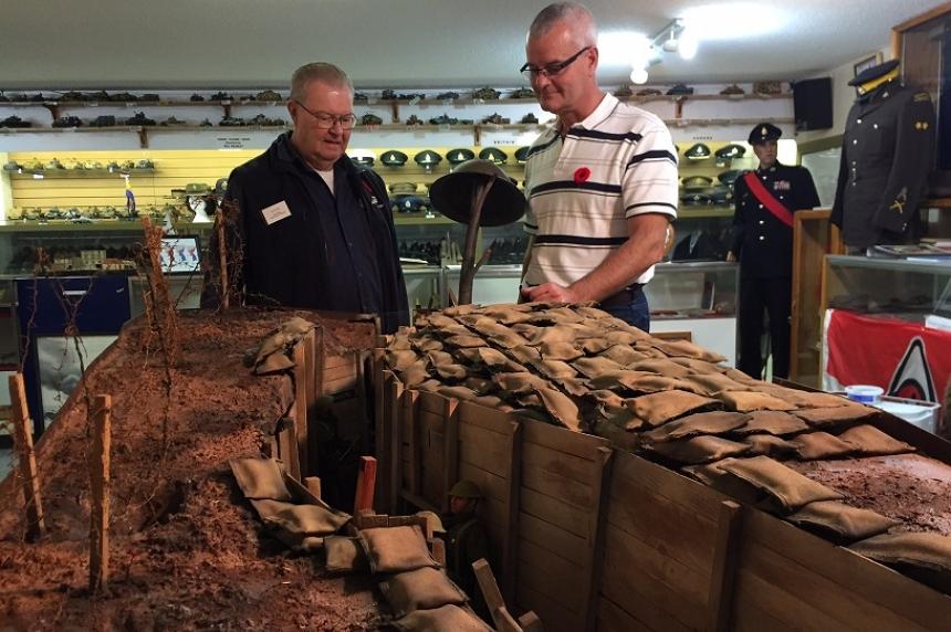 Military history comes to life at Saskatoon legion museum