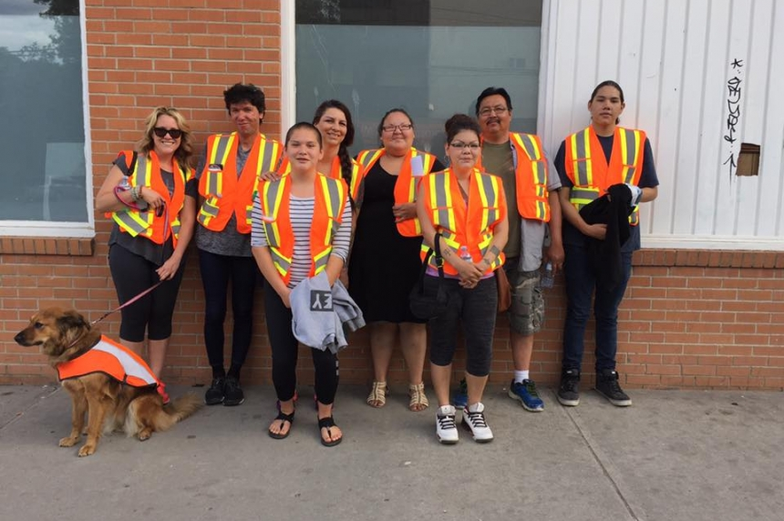 White Pony Lodge starts  street patrols in North Central Regina
