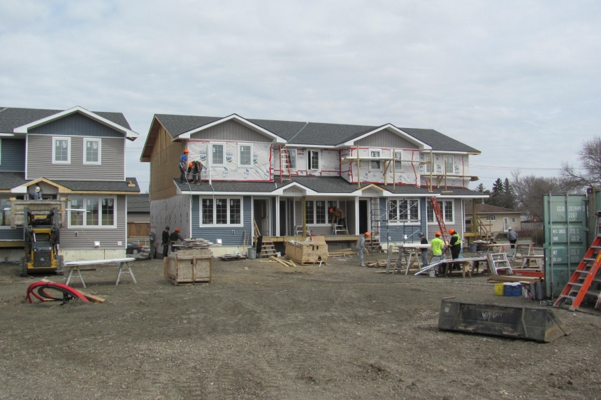 Women team up to build 64 Habitat for Humanity homes in Regina