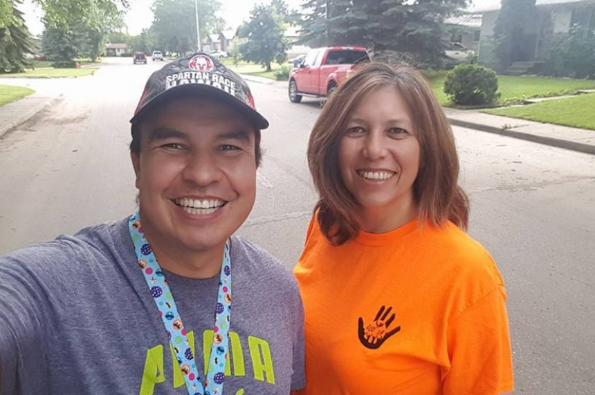 Prince Albert man walking across the country begins final stretch