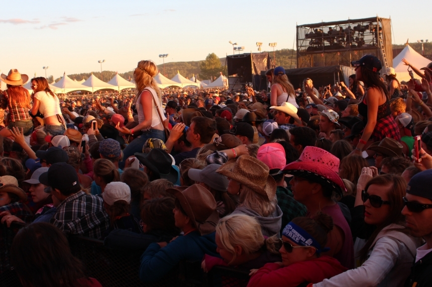 RCMP responded to fewer calls this year at Craven Jamboree