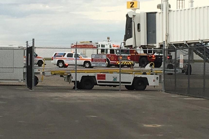 Smoke causes WestJet plane to make emergency landing at Regina airport