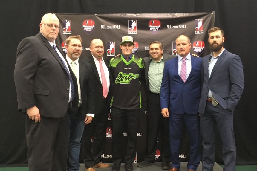 Rush take Ryan Keenan first overall in NLL draft