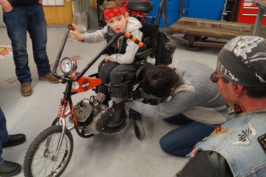 Sask. Polytechnic helps young Saskatoon boy live Halloween dream