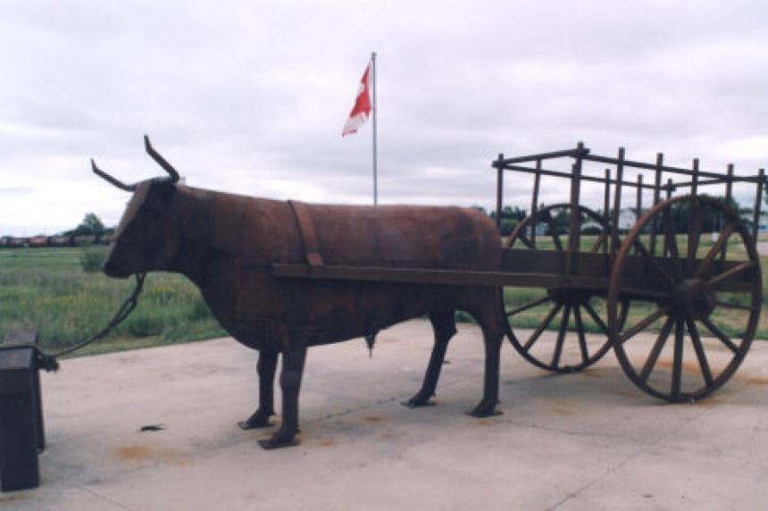 Sculptures along Highway 11 pay tribute to Sask. Métis culture