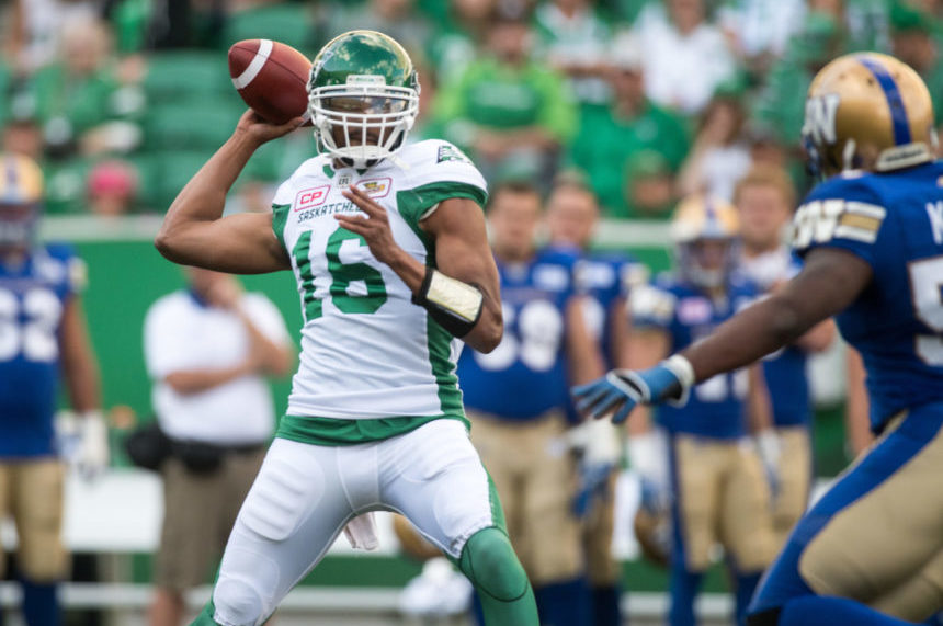 Bridge tosses 3 touchdowns in 27-19 victory over Ticats