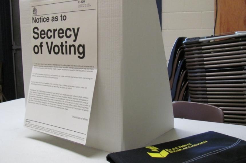 Election day in Saskatchewan