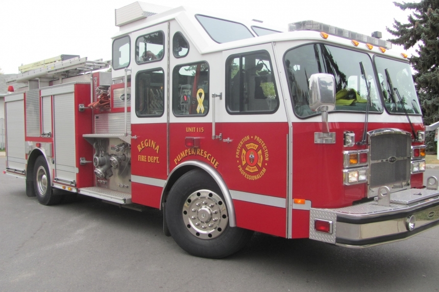 Regina firefighters catch would-be thief after false alarm