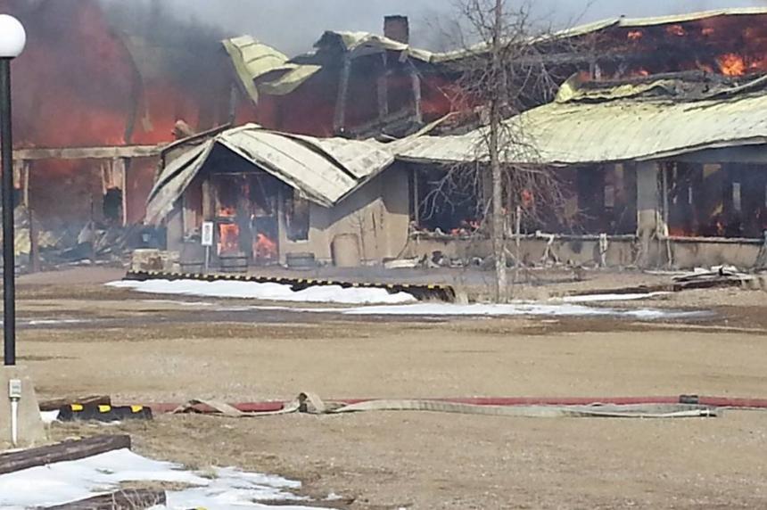 Massive fire destroys Craik Eco-Centre