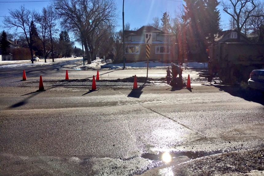 Potholes a plenty on Saskatoon, Regina streets