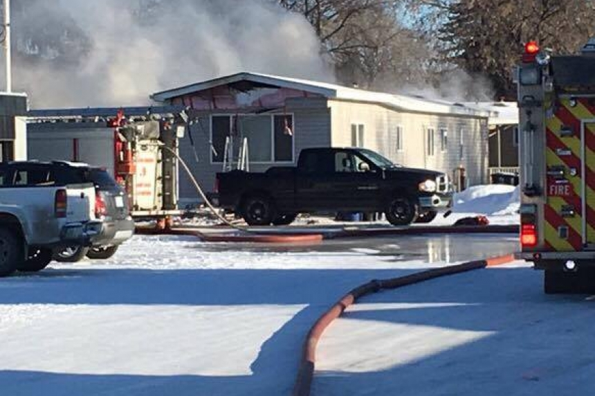 Saskatoon house fire leaves 50-year-old man in serious condition