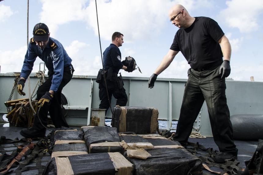 HMCS Saskatoon helps stop $500M worth of cocaine