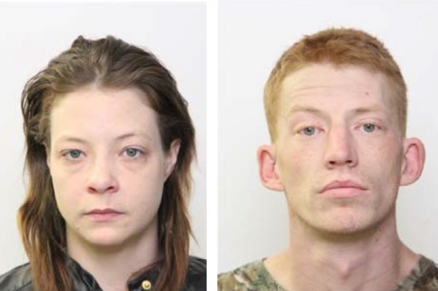 Arrest warrants issued for Lloydminster pair wanted for theft