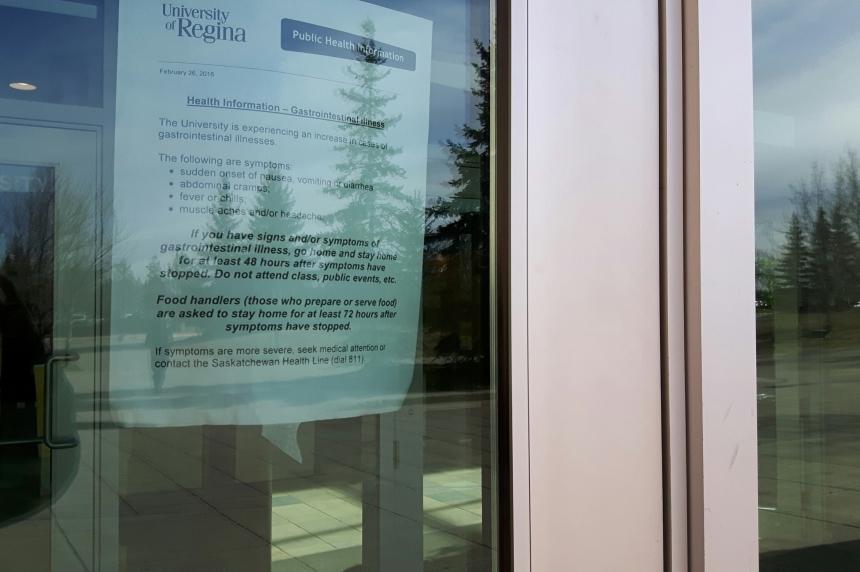 Norovirus identified as illness affecting University of Regina