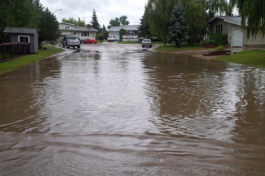 Worst is over, but rain continues to fall across Saskatchewan