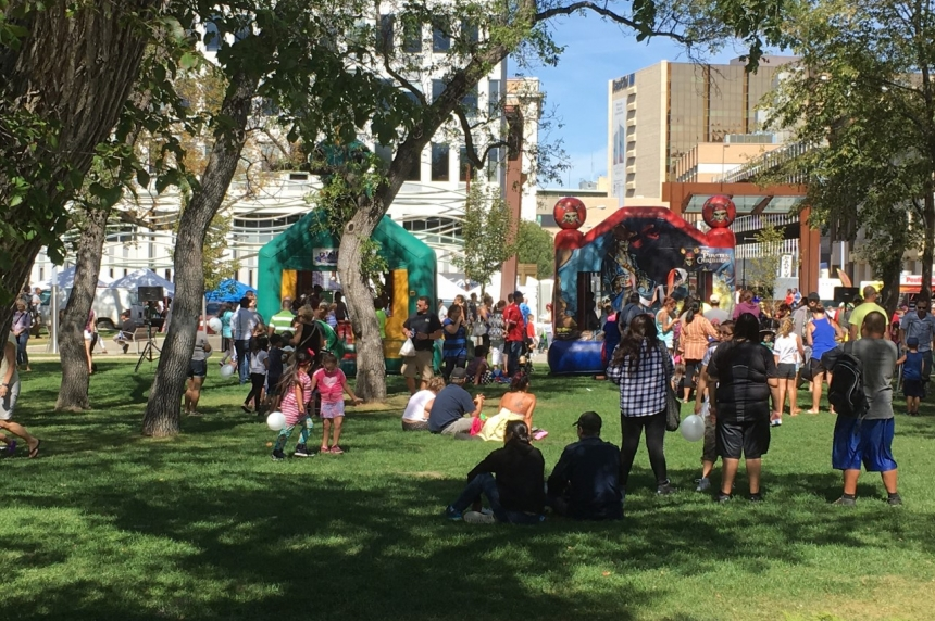 'We have so many things to offer' People gather at Victoria Park to celebrate Regina