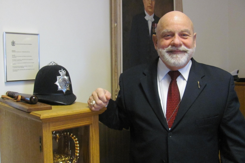 Hanging up the hat: Pat Shaw retires as Saskatchewan's sergeant-at-arms