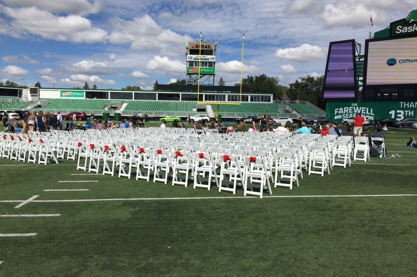 Film with local flavour makes big screen debut at Mosaic Stadium