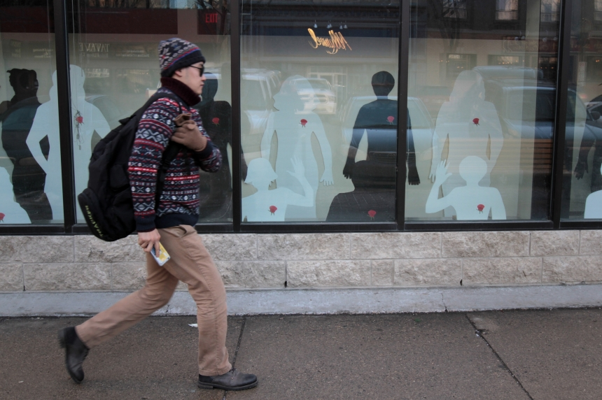Annual Saskatoon art project combats violence against women